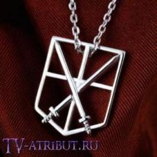 Кулон со знаком Кадетов, серебро 925 пробы
