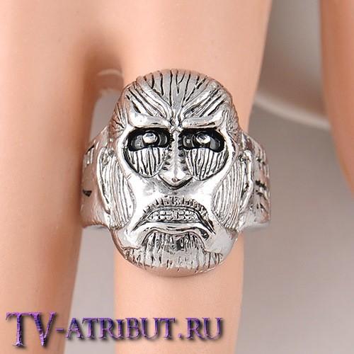 Кольцо в виде титана (гиганта)