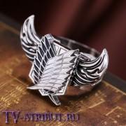 Кольцо с символом Корпуса разведки и крыльями