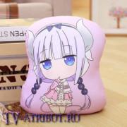 """Подушка Канна из аниме """"Кобаяши и её горничная-дракон"""""""