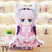 """Подушка Канна Камуи из аниме """"Кобаяши и её горничная-дракон"""""""