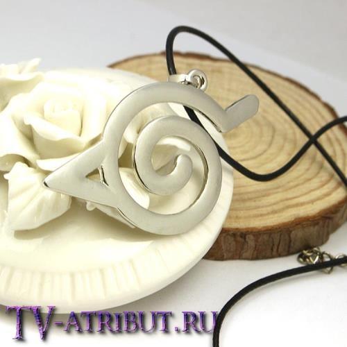 Кулон со знаком Конохи (Деревни скрытого листа)