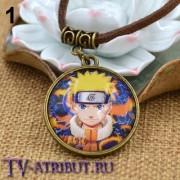 """Кулон с изображениями из аниме """"Наруто"""" (2 варианта)"""