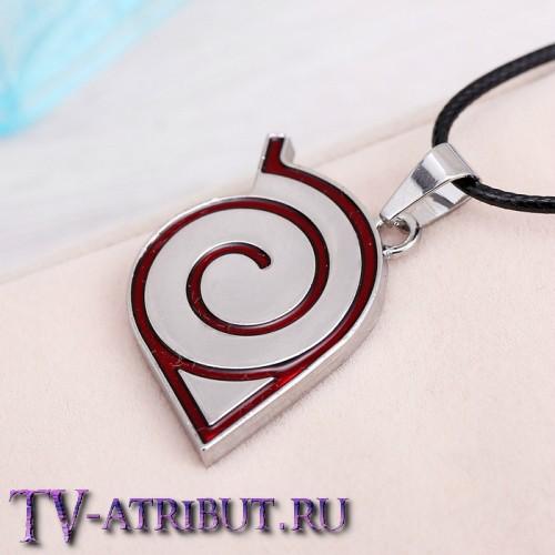Кулон с символом Конохи (Деревни скрытого листа)
