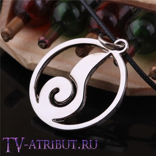 Кулон с символом Хинаты Хьюга (огонь)