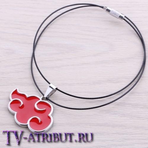 Кулон с символом организации Акацуки