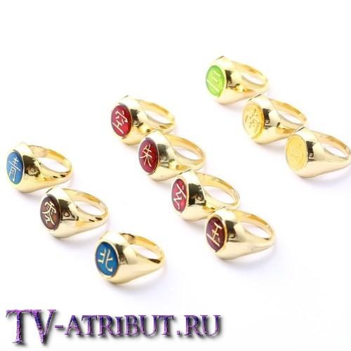 Кольцо Какузу, золотистое