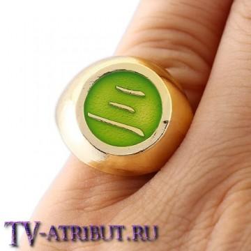 Кольцо Хидана, золотистое