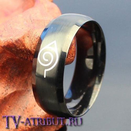 Кольцо со знаком Конохи, сталь