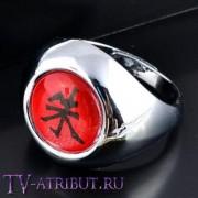Кольцо Итачи Учиха с иероглифом Алой Птицы