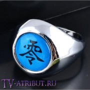 """Кольцо Пейна с иероглифом """"Ноль"""""""