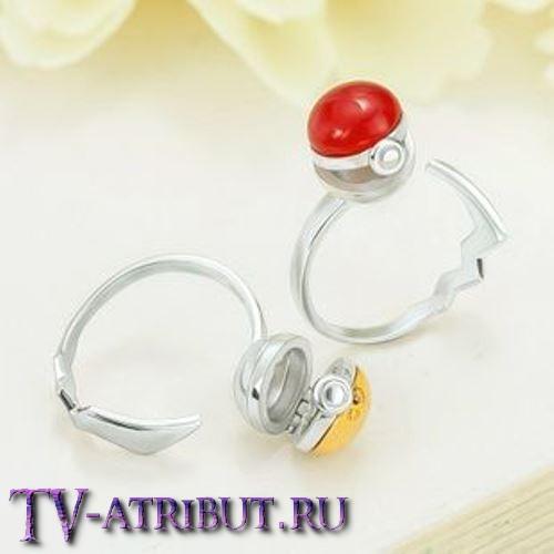 """Кольцо """"Золотой GS-бол"""", серебро 925 пробы"""