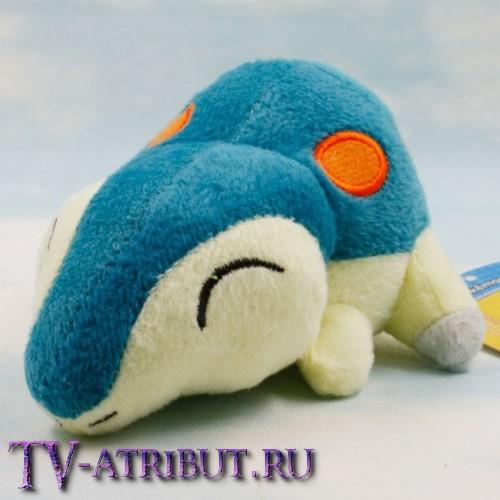 Мягкая игрушка покемон Синдаквил (14 см)