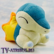 Мягкая игрушка покемон Синдаквил (15 см)