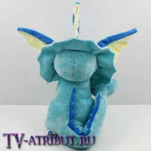 Мягкая игрушка покемон Вапореон (16 см)