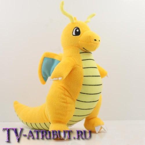 Мягкая игрушка покемон Драгонайт (22 см)