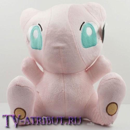 Мягкая игрушка покемон Мью (24 см)