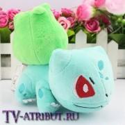 Мягкая игрушка покемон Бульбазавр (14 см)