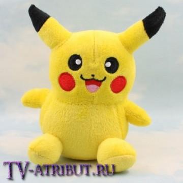 Мягкая игрушка покемон Пикачу (14 см)