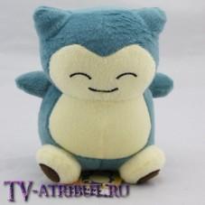 Мягкая игрушка покемон Снорлакс (15 см)