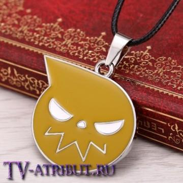 "Кулон в виде логотипа аниме ""Soul Eater"" (Пожиратель душ)"