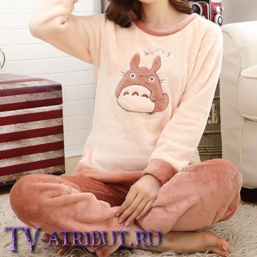 Фланелевая пижама с изображением Тоторо