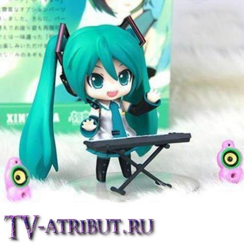Фигурка Хацунэ Мику с синтезатором (Nendoroid)
