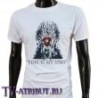 Футболка с Шелдоном на Железном троне (3 цвета)