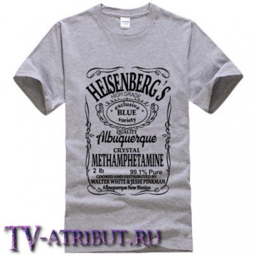 """Футболка """"Heisenberg's"""" (3 цвета)"""