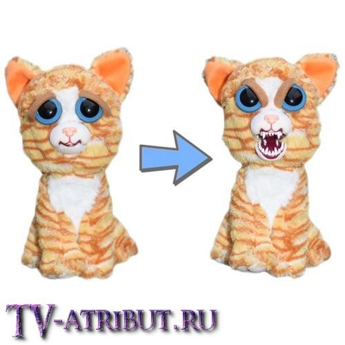 Мягкая игрушка Рыжая кошка