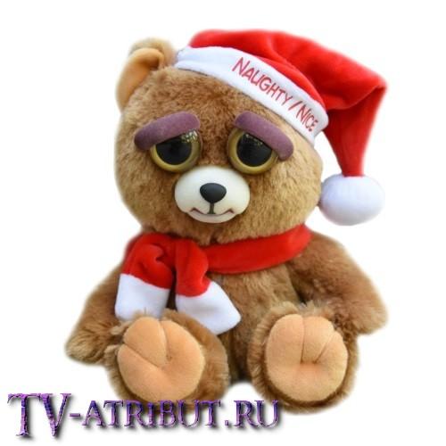 Мягкая игрушка Мишка Новогодний