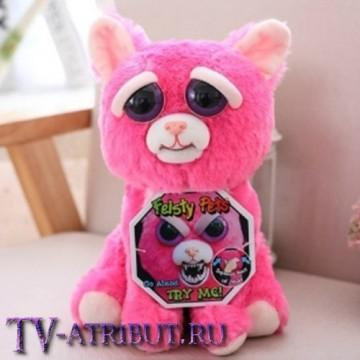 Мягкая игрушка Кошка Пинки