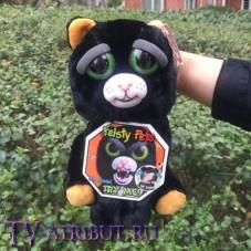 Мягкая игрушка Чёрная кошка