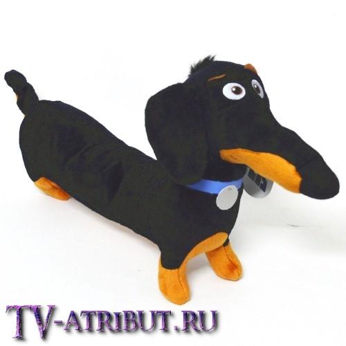 Мягкая игрушка такса Бадди (30 см в длину)