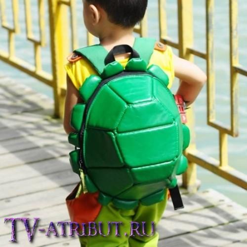 Детский рюкзак в виде панциря