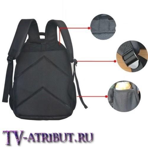 """Рюкзак с принтами из """"Черепашек-ниндзя"""" (3 варианта)"""