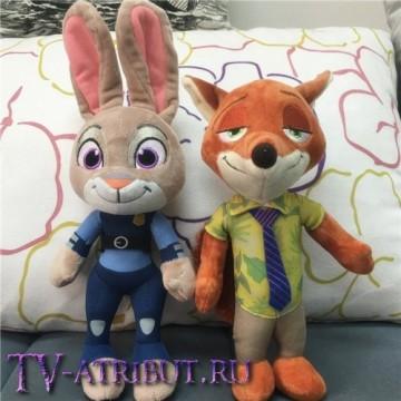Плюшевая игрушка Джуди, или Ник (23 или 33 см)