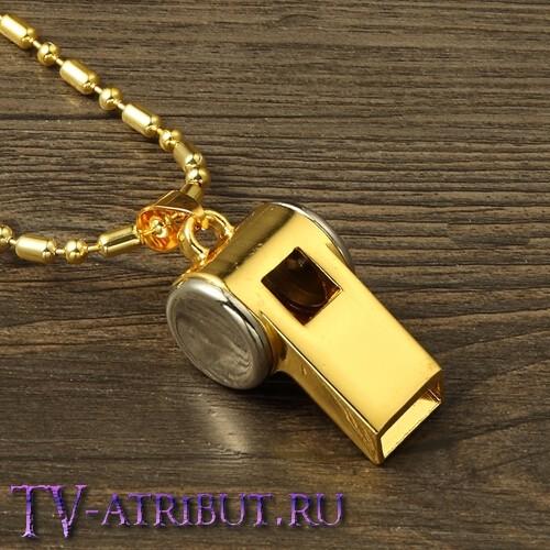 Кулон Джастина Бибера в виде свистка (4 цвета)