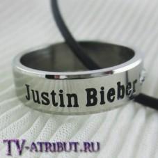 "Кольцо-кулон ""Justin Bieber"", титановая сталь"