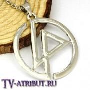 """Кулон в виде символа группы """"Linkin Park"""""""