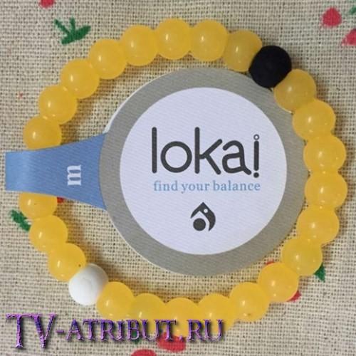 Браслет Lokai жёлтый