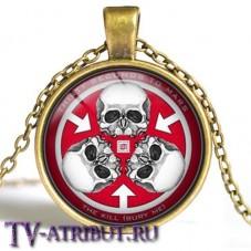 "Кулон с изображением знака ""Тринити"""