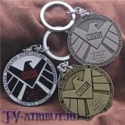 "Брелок ""Агенты S.H.I.E.L.D Marvel"" (3 цвета)"