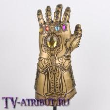 Перчатка бесконечности Таноса, цвет золото