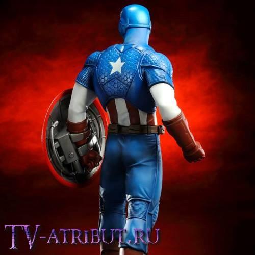Коллекционная фигурка Капитан Америка (21 см)