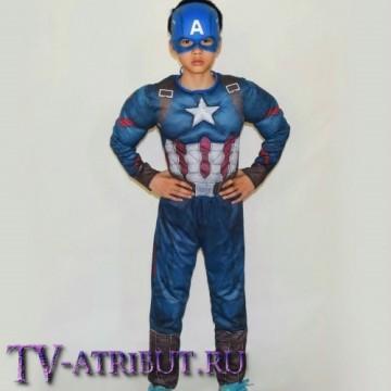 Детский костюм Капитана Америка