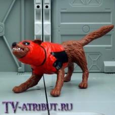 Фигурка-игрушка в виде Догпула - собаки-аналога Дэдпула