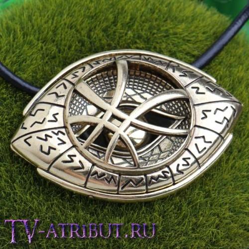 """Кулон """"Глаз Агамотто"""" (цвета - бронза, серебро)"""