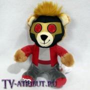 """Мягкая игрушка медвежонок """"Звёздный Лорд"""" (15 см)"""