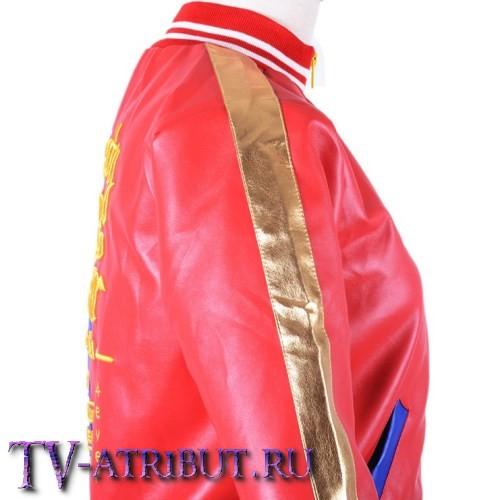 Куртка Харли Квинн из иск. кожи